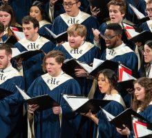 Hendricks Chapel Choir members